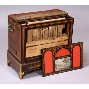 Uniflute Twenty-Six Note Barrel Organ by Gavioli & Cie