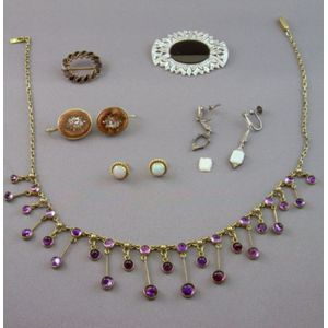 Group of Antique and Later Jewelry