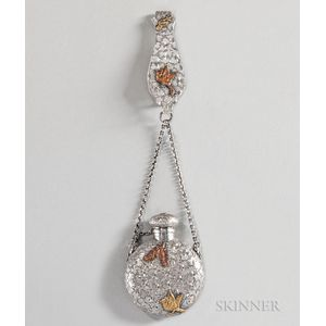 Dominick & Haff Sterling Silver and Mixed Metal Perfume