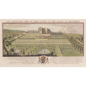 Four Framed Hand Colored Engravings of British Castles