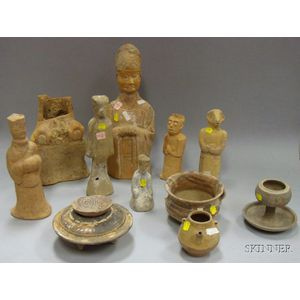 Group of Chinese Archaic-style Funereal Items