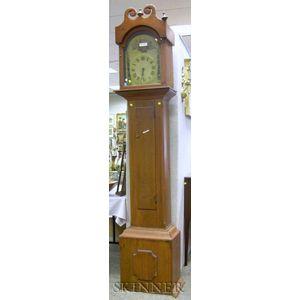 Pine Tall Clock