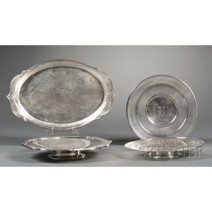 Four American Sterling Serving Dishes