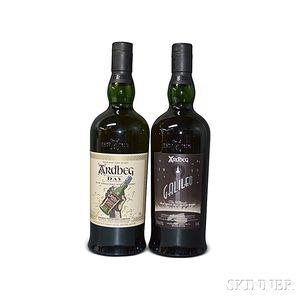 Mixed Ardbeg, 2 750ml bottles