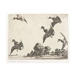 Frank Weston Benson (American, 1862-1951)  Adam E.M. Paff's Etchings and Drypoints by Frank W. Benson