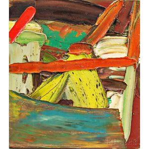 Roger Hankins (American, 20th Century)      Untitled Abstract