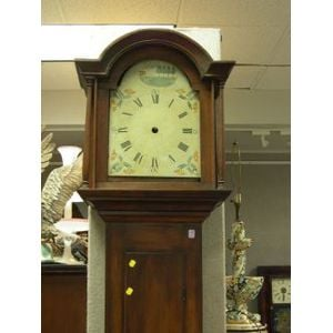 Birch and Pine Tall Case Clock