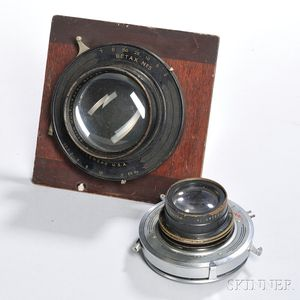 Wollensak and Bausch & Lomb Large Format Lenses