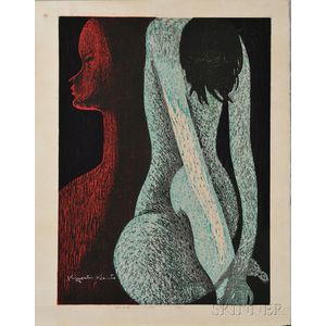 Kiyoshi Saito (1907-1997), Nude (G)