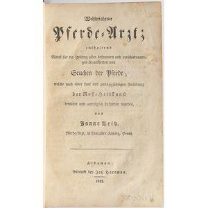 Leib, Isaac (fl. circa 1842) Wohlerfahrner Pferde-Arzt.