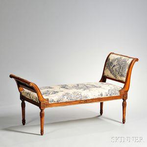 Louis XVI-style Window Seat