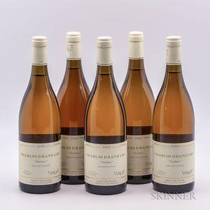Verget Chablis Valmur 1995, 5 bottles
