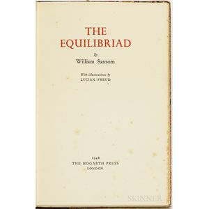 Sansom, William (1912-1976) illus. Lucian Freud (1922-2011) The Equilibriad  , Signed Limited Edition.