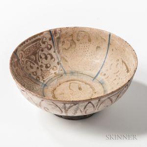 Lustre-glazed Kashan Bowl