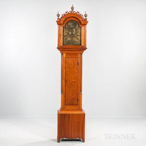 Daniel Burnap Cherry Tall Clock