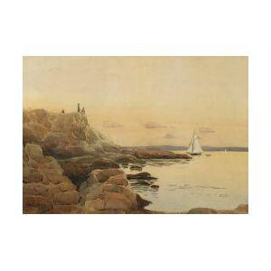 George Elmer Browne (American, 1871-1946)  North Shore Coast