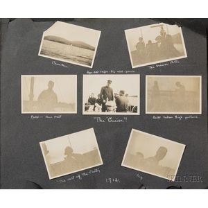 Early Historic Readville and Lowell Automobile Photographs