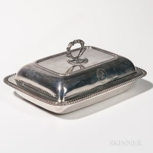 George III Sterling Silver Covered Vegetable Tureen