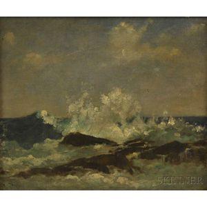 John Appleton Brown (American, 1844-1902)      Storm, Isle of Shoals