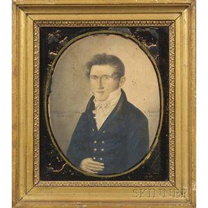 Possibly the Work of Joseph Partridge (American, 1792-1833)    Portrait of William Myrik.