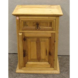 Continental Provincial Pine Side Cabinet.