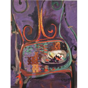 After Georges Braque (French, 1882-1963)      La Chaise