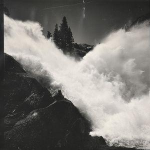 Ansel Adams (American, 1902-1984)      Waterwheel Falls, Yosemite National Park, California