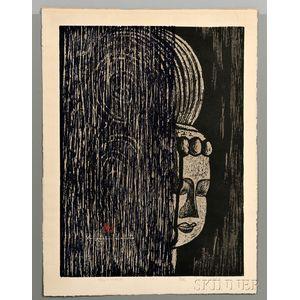 Kiyoshi Saito (1907-1997), Buddha (A)