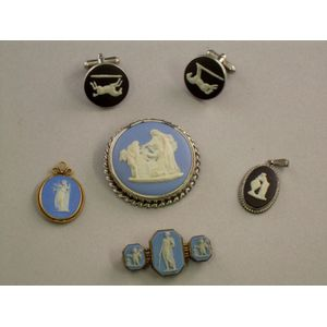 Five Pieces of Wedgwood Jewelry