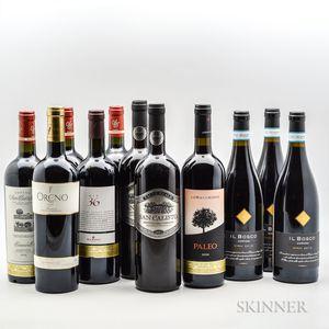 Mixed Italian Reds, 11 bottles