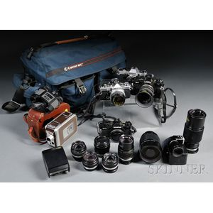 Olympus 35mm Camera Bodies and Lenses