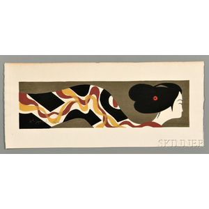 Kiyoshi Saito (1907-1997), Woodblock Print