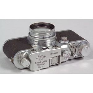 Leica IIIC Heer Camera with Provenance