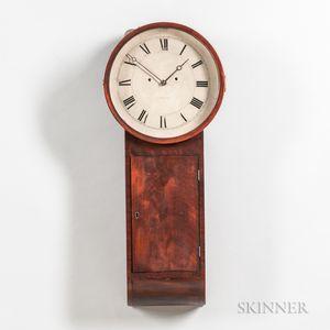 Simon Willard Mahogany Tavern Clock