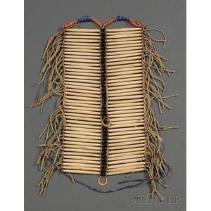 Plains Bone Hair Pipe Breastplate | Sale Number 2506, Lot