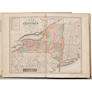 Burr, David H. (1803-1875) An Atlas of the State of New York