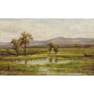 Jonathan Bradley Morse (American, 1834-1898)      Water-meadow