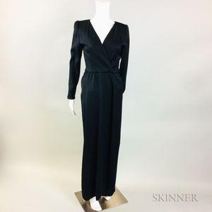 Oscar de la Renta Black Gown