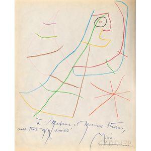 Joan Miró (Spanish, 1893-1983)      Sans Titre
