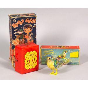 Three Musical Novelty Toys