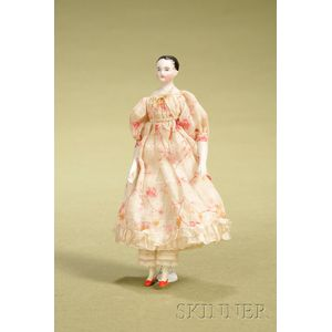 China Lady with Wood Body