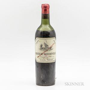 Chateau Beychevelle 1945, 1 bottle