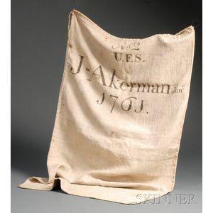 Linen Fire Bag