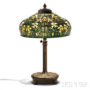 Tiffany Studios Daffodil Table Lamp with Adjustable Standard