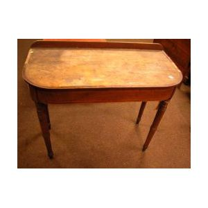 Late Federal Inlaid Mahogany Dressing Table.