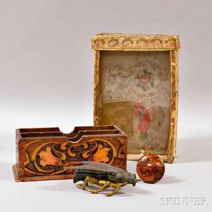 Four Decorative Items