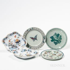 Five Wedgwood Dishes