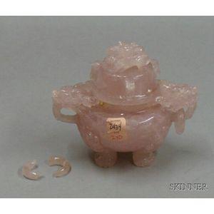 Rose Quartz Censer