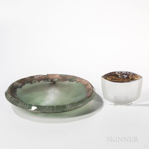 Yoko Kuramoto Vessel of the Sea   and Adornment   Art Glass Sculptures