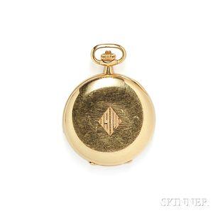 18kt Gold Hunting Case Pocket Watch, Patek Philippe, Tiffany & Co.